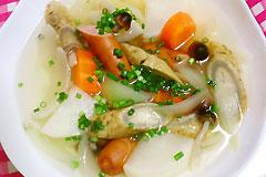 塩麹de根菜たっぷり和風ポトフ